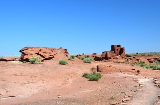 Wupatki National Monument: Wukoki Pueblo