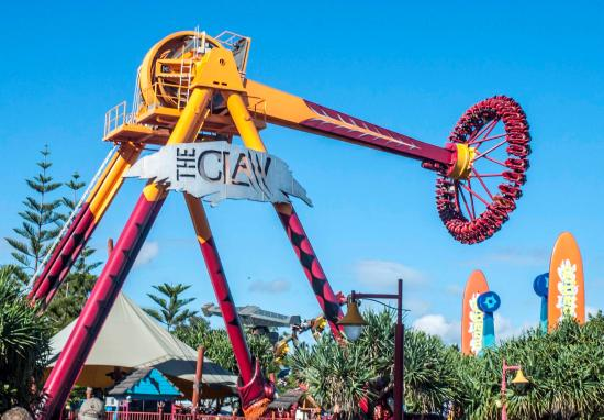 The claw picture of dreamworld coomera tripadvisor dreamworld the claw gumiabroncs Choice Image