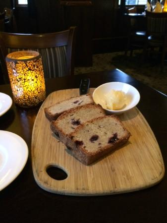 Camille's On The River: Sweet Bread with Honey Butter