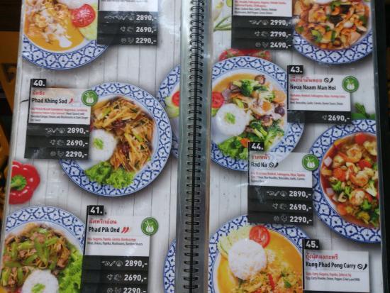 Budapest Tom Yum Thai Restaurant Menu Board Picture Of Tom Yum