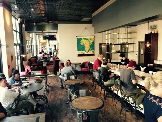 Photo of Cafe Land of a Thousand Hills Coffee at 232 19th St Nw Ste 7100, Atlanta, GA 30363, United States