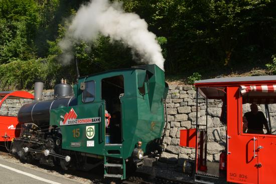 Brienz Rothorn Bahn: Steam train in preparation
