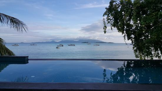 Villa Labaron: view from the pool