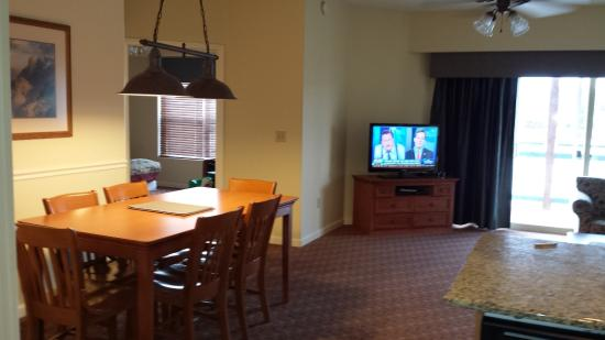 Dining Area Of Our Unit In Teal Landing Wyndham Pagosa