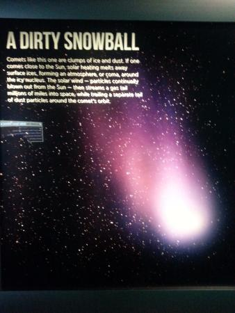 Morehead Planetarium and Science Center : A Dirty Snowball