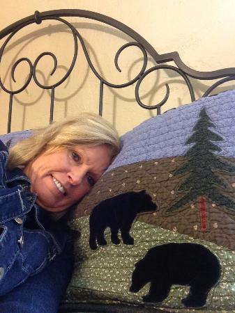Alpine Motel: Soft pillows