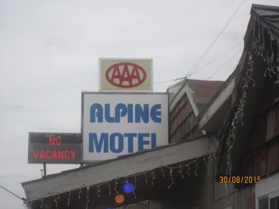 Alpine Motel: AAA rated