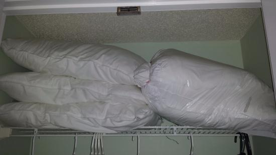 And 2nd bedroom closet is the pillow storage, too. - Picture of ...