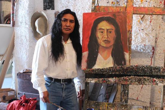 Província de Pichincha, Equador: Ortega Maila fundador del Templo del Sol