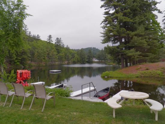 Madison, NH: Lake in front of our cottage