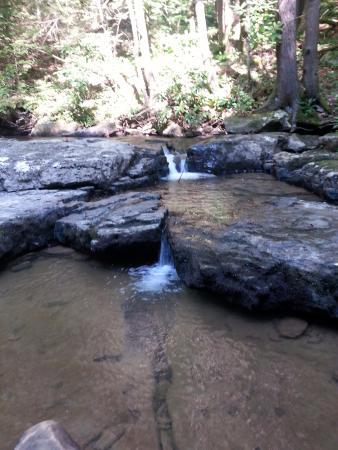 Camp Creek, Virginia Occidental: Stream