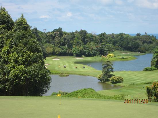 Ria Bintan Golf Club: Canteenからの眺め