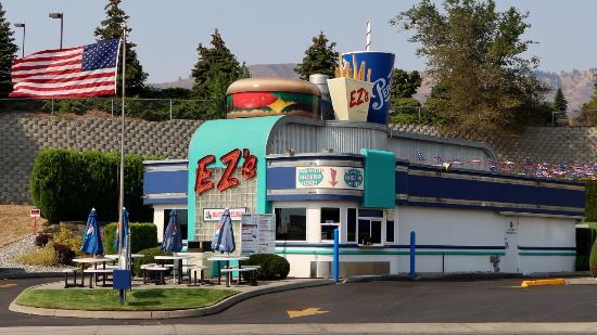 Ezs Burgers Ezs American Diner Drive Thru