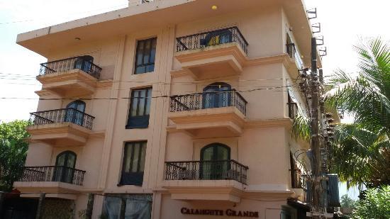 โรงแรมคาลังกูท แกรนด์: Calangute Grande