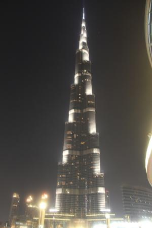 Fortune Grand Hotel Burj Al Khalifa View From Dubai Mall