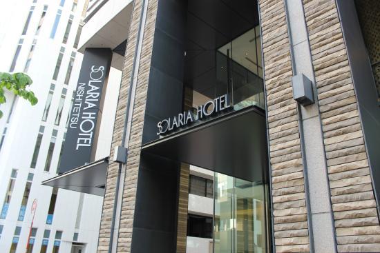 Solaria nishitetsu hotel Ginza: Entrance