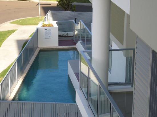 White Shells Luxury Apartments: Private Heated Pool