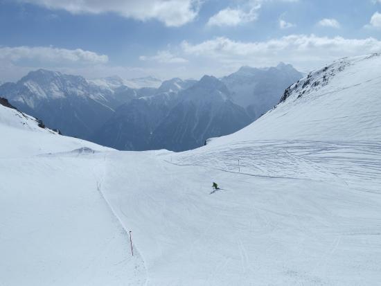 Ftan, سويسرا: Skigebiet Motta Naluns