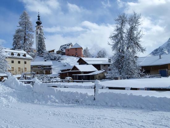 Ftan im Winter