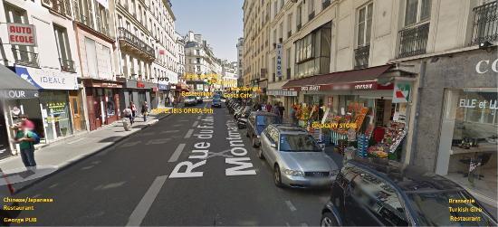 hotel surrounding picture of ibis paris grands boulevards opera 9eme paris tripadvisor. Black Bedroom Furniture Sets. Home Design Ideas