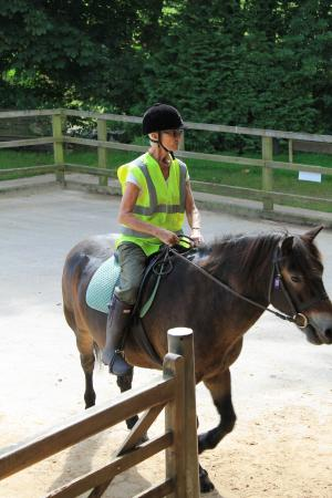 Exmoor Pony Centre: Riding out with ponies