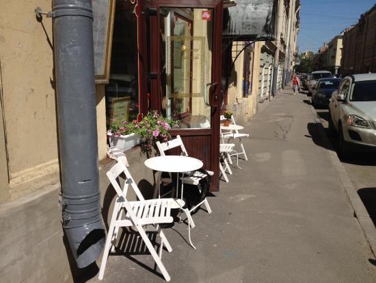 La Baguette: столик