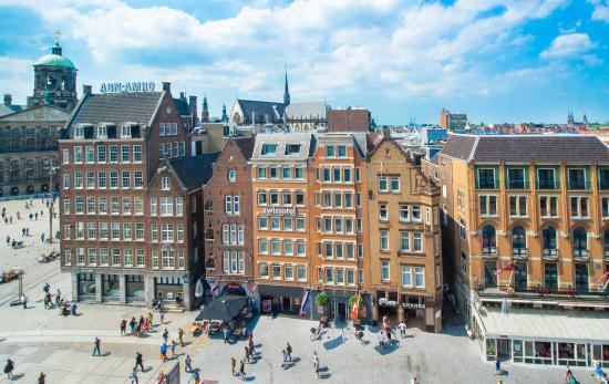 Swissotel Amsterdam : Exterior