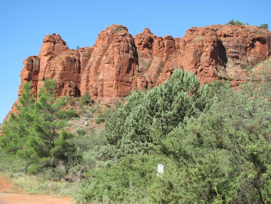 Cathedral Rock: Catheral Rock from Sedona Crossing