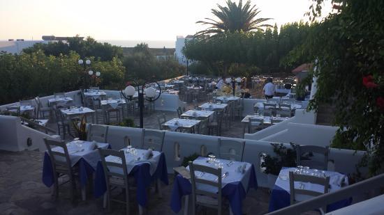 Vritomartis Naturist Resort: Restaurant