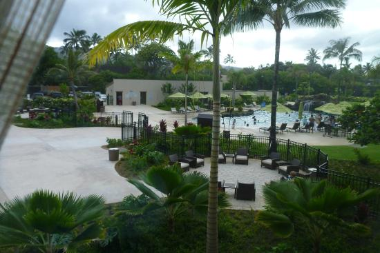 Courtyard By Marriott Oahu North S Pool View From Room
