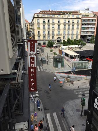 Hostal San Lorenzo: вид с балкона
