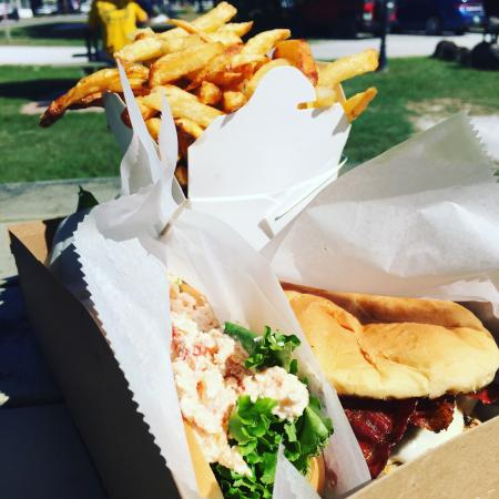 Castleton, VT: Fries were great!