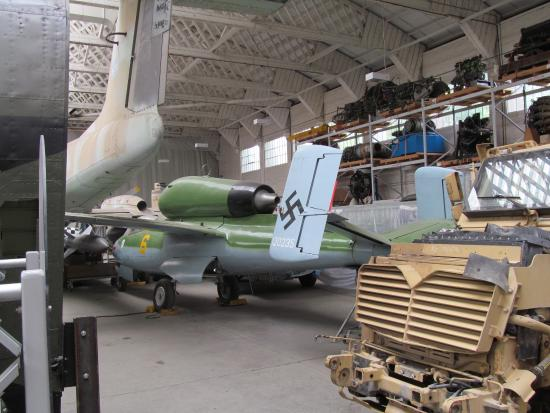 He 162 jet fighter from ww2 picture of imperial war museum duxford duxford - Location hangar paris ...