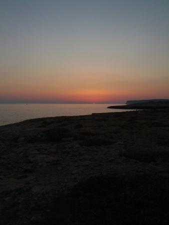 Hotel Sole: tramonto Lampedusiano