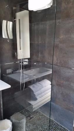 Hotel des Champs-Elysees : bathroom