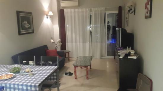 Apartamentos Castillo del Vigia : Гостинная