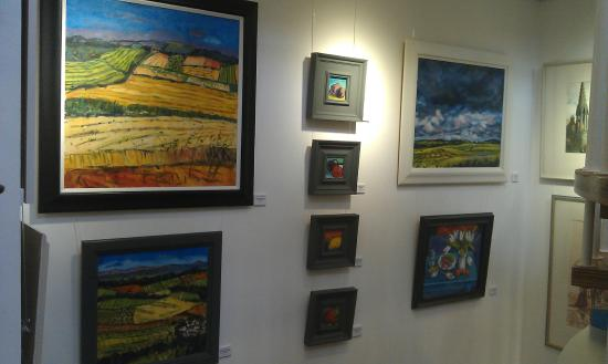 Falkland, UK: Works by Tom Sutton-Smith