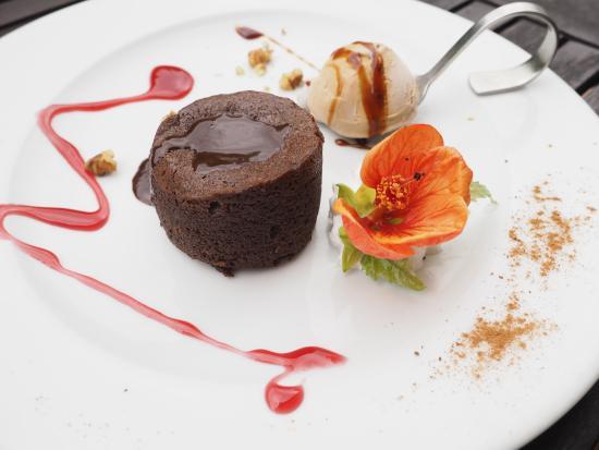 Casa Mariño: culant de chocolate