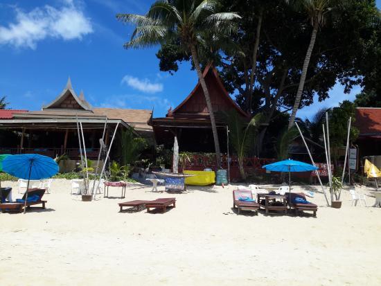 Bill Resort : lhotel visto dal mare