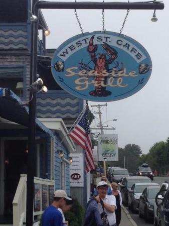 West Street Cafe, Bar Harbor