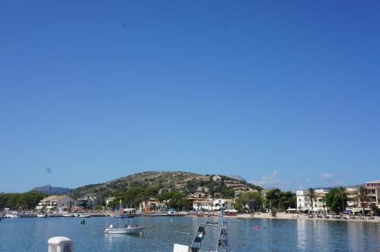 view from Lemon lounge - Picture of Port de Pollenca Beach, Port de Pollenca ...