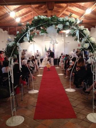 Cavour, Italien: sala matrimoni