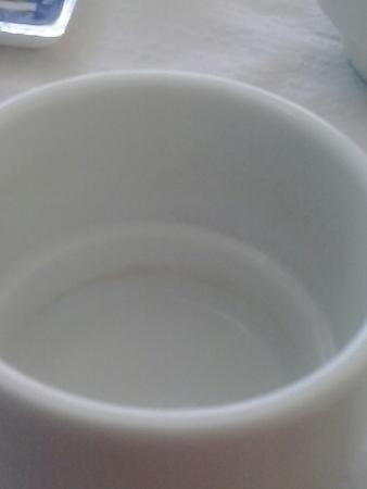 Marina Sur Hotel: Kaffeetasse