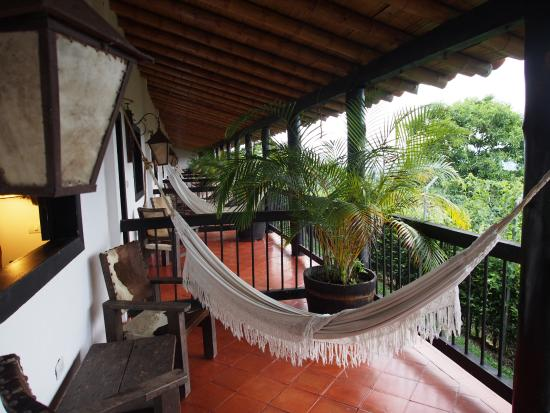 Balkon Mit Hangematte Picture Of Bosques Del Saman Alcala