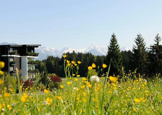 Sonnenalp Resort: Sonnenalp_Hotel im Spätsommer