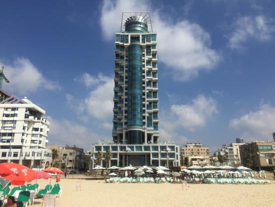 Royal Beach Hotel Tel Aviv by Isrotel Exclusive Collection: View of the hotel from Banana Beach