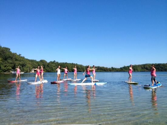 Osterville, MA: Paddle Board Yoga - Marstons Mills, MA
