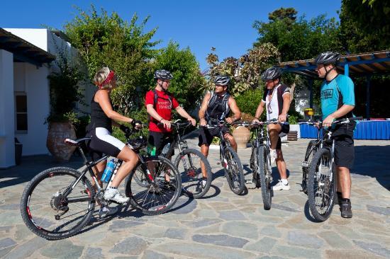 Robinson Club Daidalos: bike riding Daidalos