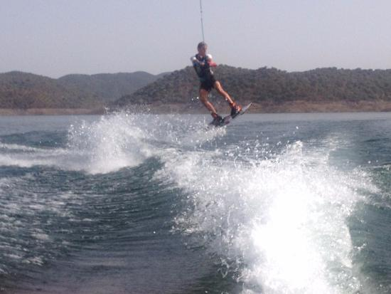 Xtreme Gene Watersports & Waterski : Our Son on his 3rd set