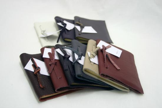 Made-Here Shop: Beautiful Leather Notebooks